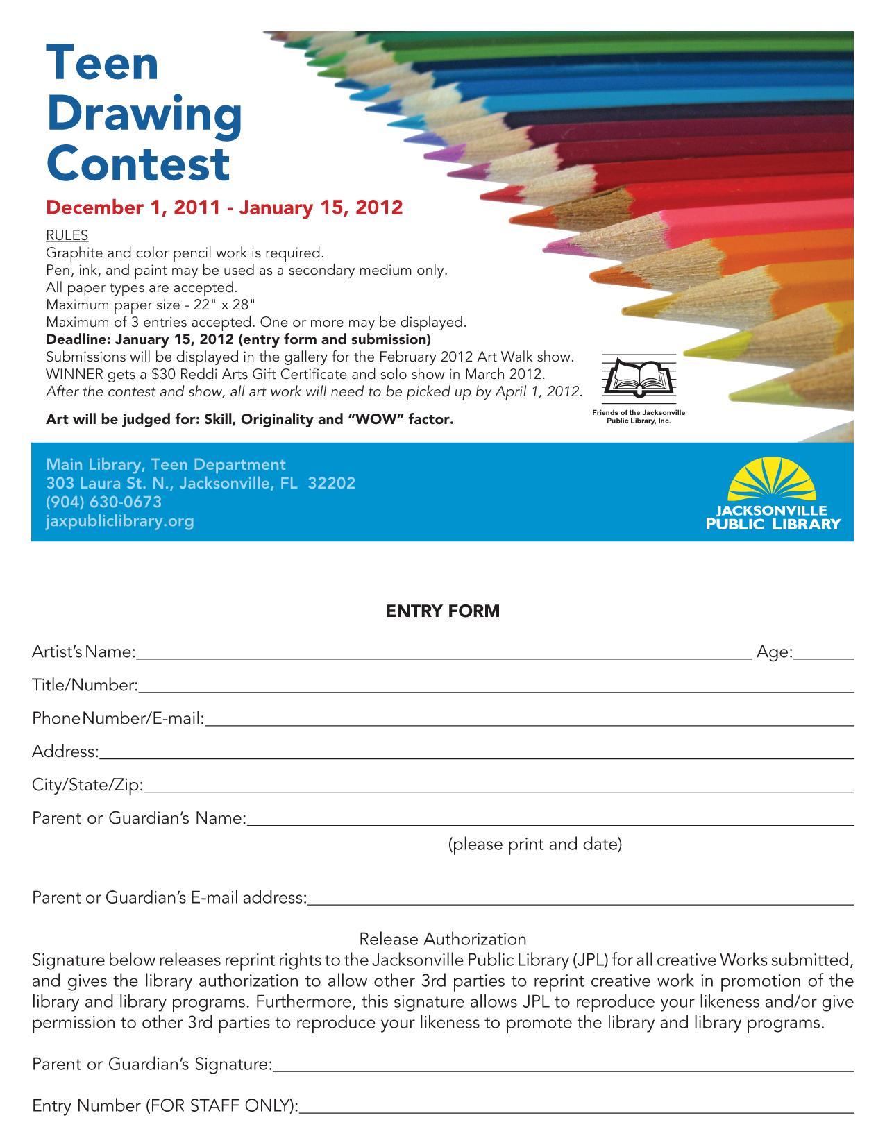 Teen Blog Teen Drawing Contest 78