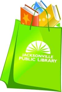 bag of books w JPL Logo