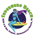 Superhero Beach logo