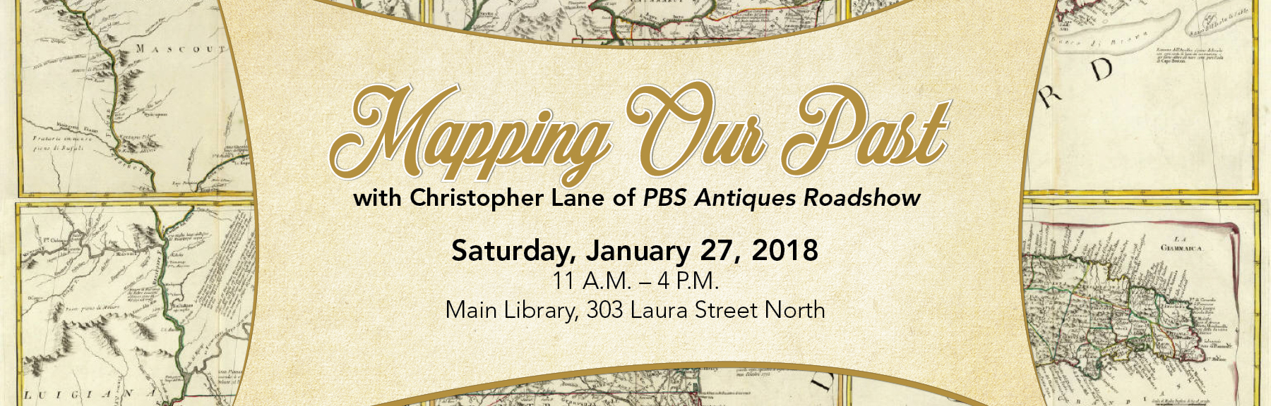 JAN 2018 e-news banner_Mapping Our Past